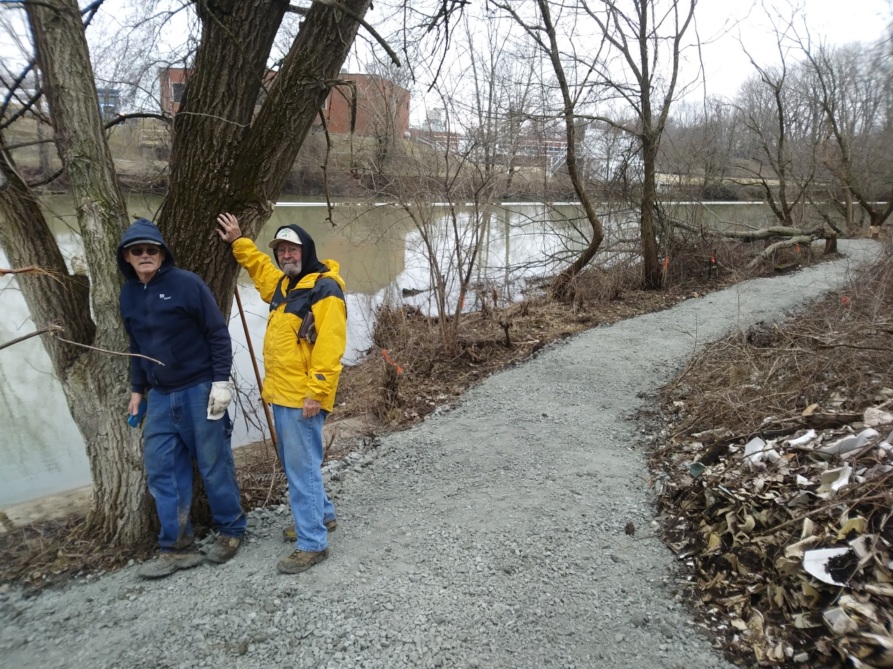 Waterworks Dam Portage Trail Completed